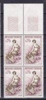 N° 1269 Madame De Staël :Beau Blocs De 4 Timbres Neuf Impeccable - Frankrijk