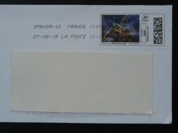 Astronomie Astronomy National Geographic Timbre En Ligne Sur Lettre (e-stamp On Cover) TPP 4465 - Astronomie