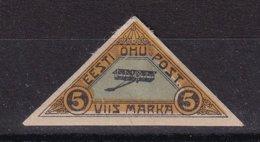 Estonia 1920, Airplane, Minr 14, Mlh. Cv 6 Euro - Estland