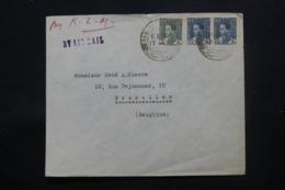 IRAQ - Enveloppe Commerciale De Baghdad Pour Bruxelles En 1937 , Affranchissement Plaisant - L 43698 - Iraq