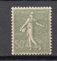 - FRANCE N° 198 Neuf ** MNH - 50 C. Olive Semeuse Lignée 1924-32, Type I - Cote 13 EUR - - 1903-60 Semeuse A Righe