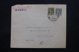 IRAQ - Enveloppe Commerciale De Baghdad Pour Bruxelles En 1936 , Affranchissement Plaisant - L 43699 - Iraq