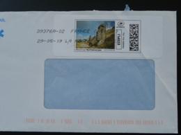 Mégalithes Ile De Paques Easter Island National Geographic Timbre En Ligne Sur Lettre (e-stamp On Cover) TPP 4516 - Archaeology