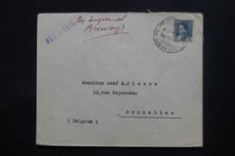 IRAQ - Enveloppe De Baghdad Pour Bruxelles En 1935 , Affranchissement Plaisant - L 43700 - Iraq