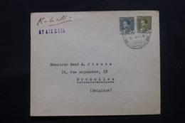 IRAQ - Enveloppe Commerciale De Baghdad Pour Bruxelles En 1936 , Affranchissement Plaisant - L 43701 - Iraq