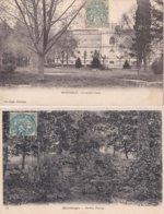 2 CP Montargis : 1) Le Jardin Durzy - 2) Jardin Durzy - Montargis