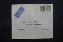 IRAQ - Enveloppe De Baghdad Pour Bruxelles En 1939 , Affranchissement Plaisant - L 43703 - Iraq