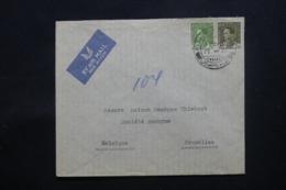 IRAQ - Enveloppe De Baghdad Pour Bruxelles En 1939 , Affranchissement Plaisant - L 43704 - Irak