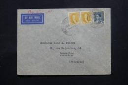 IRAQ - Enveloppe Commerciale De Baghdad Pour Bruxelles En 1938 , Affranchissement Plaisant - L 43705 - Irak