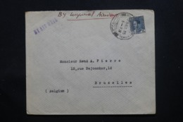 IRAQ - Enveloppe De Baghdad Pour Bruxelles En 1935 , Affranchissement Plaisant - L 43706 - Irak