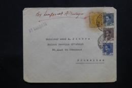 IRAQ - Enveloppe Commerciale De Baghdad Pour Bruxelles En 1935 , Affranchissement Plaisant - L 43707 - Irak