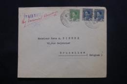 IRAQ - Enveloppe Commerciale De Baghdad Pour Bruxelles En 1935 , Affranchissement Plaisant - L 43709 - Iraq