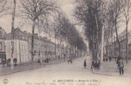 Montargis : Avenue De La Gare - Montargis