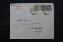 IRAQ - Enveloppe Commerciale De Baghdad Pour Bruxelles En 1930 , Affranchissement Plaisant - L 43710 - Irak