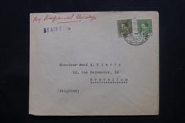 IRAQ - Enveloppe Commerciale De Baghdad Pour Bruxelles En 1936 , Affranchissement Plaisant - L 43712 - Irak