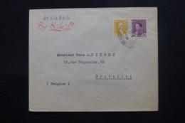 IRAQ - Enveloppe Commerciale De Baghdad Pour Bruxelles En 1936 , Affranchissement Plaisant - L 43713 - Irak