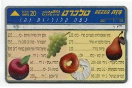 Telecarte °_ Israel-RRz12 - R/V 0302 - Israel