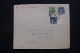 IRAQ - Enveloppe Commerciale De Baghdad Pour Bruxelles En 1936 , Affranchissement Plaisant - L 43714 - Iraq
