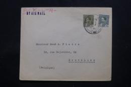 IRAQ - Enveloppe Commerciale De Baghdad Pour Bruxelles En 1936 , Affranchissement Plaisant - L 43715 - Iraq