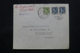 IRAQ - Enveloppe Commerciale De Baghdad Pour Bruxelles En 1937 , Affranchissement Plaisant - L 43716 - Iraq