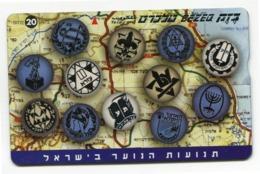 Telecarte °_ Israel-RRz27 - R/V 8259 - Israel