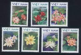 Vietnam Viet Nam MNH Perf Stamps 1988 : Water Flowers / Flower (Ms542) - Vietnam