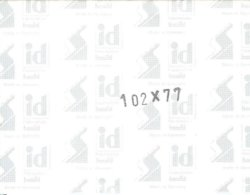 I.D. - Blocs 102x77 Fond Noir (double Soudure) - Bandes Cristal