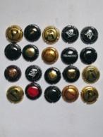 Lotto 20 Capsule Come Da Foto Lot N 5 - Capsules & Plaques De Muselet