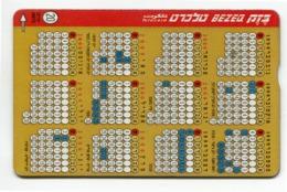 Telecarte °_ Israel-RRz51 - R/V 7621 - Israël