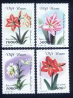 Vietnam Viet Nam MNH Perf Stamps 1997 : Flowers / Flower (Ms750) - Vietnam