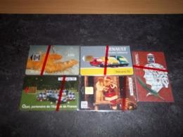 PETIT LOT 5 TELECARTES PRIVEES PUBLIQUES NEUVES NSB !!! - Francia