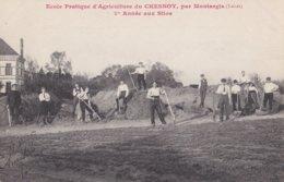 Montargis : Ecole Pratique D'Agriculture Du Chesnoy - 1 ère Année Aux Silos - Montargis