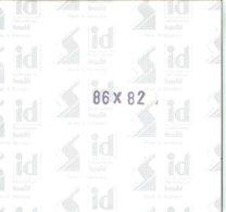 I.D. - Blocs 86x82 Fond Noir (double Soudure) - Bandes Cristal