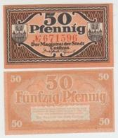 Notgeld Cottbus 50 Pf 1921 - [11] Lokale Uitgaven