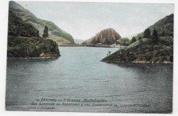 (RECTO / VERSO) ROCHETAILLEE EN 1910 - N° 48 - VUE GENERALE DU RESERVOIR - Ed. AQUA PHOTO - BEAU CACHET - CPA COULEUR - Rochetaillee