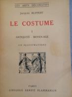 """Livres """"Le Costume"""" De Jacques Ruppert - Tomes 1 à 5 - état Correct Mais Couvertures Jaunies - Arte"""