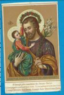 Holycard   St. Joseph - Santini