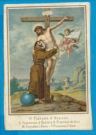 Holycard   St. Franciscus - Santini
