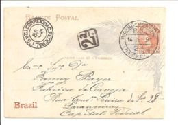 Bilhete Postal Rio 14.9.91 - Ganzsachen