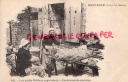 22- BRETAGNE - LES PETITS METIERS POPULAIRES - CARDEUSES DE MATELAS - BELLE CARTE PRECURSEUR - Sin Clasificación