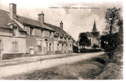 CP 45- COMBREUX- LA MAISON DURAND ET L'EGLISE - Autres Communes