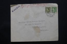 IRAQ - Enveloppe Commerciale De  Baghdad  Pour La Belgique En 1935 , Affranchissement Plaisant - L 43723 - Irak