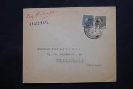 IRAQ - Enveloppe Commerciale De Baghdad Pour La Belgique En 1936 , Affranchissement Plaisant - L 43725 - Iraq