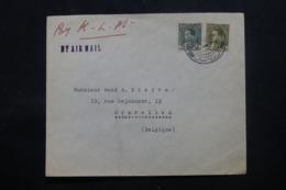 IRAQ - Enveloppe Commerciale De Baghdad Pour La Belgique En 1936 , Affranchissement Plaisant - L 43727 - Iraq