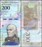 10 Pieces Venezuela-200 Bolivars 2018 UNC - Venezuela