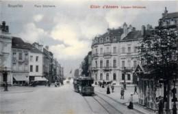 Belgique - Bruxelles - Place Stéphanie - Tram - Prachtstraßen, Boulevards