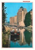 93 - Pantin - Le Canal Et Le Moulin - Péniches - Voir Scans Recto-Verso - Pantin