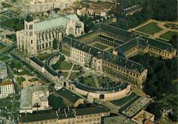 93 - Saint Denis - La Basilique Et La Maison Nationale De La Légion D'Honneur - Vue Aérienne - Carte Neuve - Voir Scans - Saint Denis