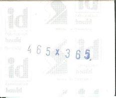 I.D. - Pochettes 46,5x36.5 Fond Noir (double Soudure) - Bandes Cristal