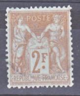 France 105 Sage Type 1 Oblitéré Used Cote 55 - 1898-1900 Sage (Type III)